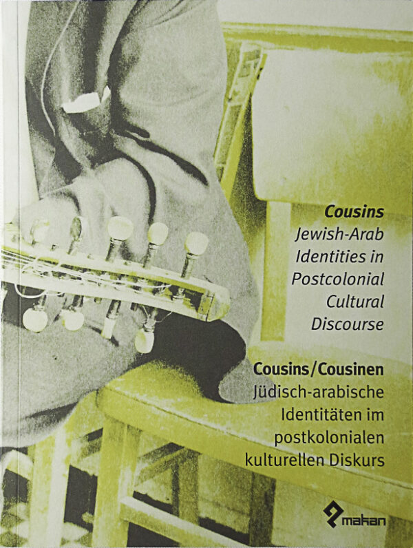 Cousins. Jewish-Arab Identities in Postcolonial Cultural Discourse The publication contains texts in three languages by different scholars from the fields of cultural, film and political studies and shall serve as deeper and even more academic insight into the topics and issues raised by the films. With texts by Ella Shohat, Omar Kamil, Najat Abdulhaq, Aomar Boum and Oren Kosansky, Viola Shafik, and Iskandar Abdalla.